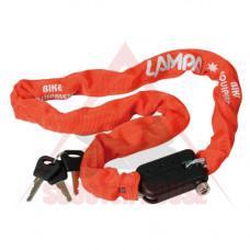 Заключващо устройство -LAMPA- SNAKE с ключ, 1000mm