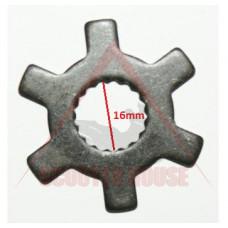 Звезда шайба -EU- CPI 50 cc 16mm шлици