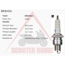 Свещ -NGK- BR6HSA 4296