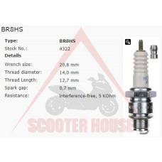 Свещ -NGK- BR8HS 4322