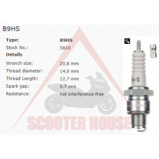 Свещ -NGK- B9HS 5810