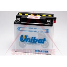 Акумулатор -UNIBAT- 8Ah 12V CB7L-B2, YB7L-B