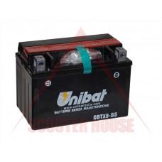 Акумулатор -UNIBAT- 8Ah 12V гелов  CBTX9-BS, YTX9-BS