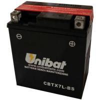 Акумулатор -UNIBAT- 6Ah 12V CBTX7L-BS, YTX7L-BS