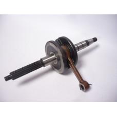 Колянов вал -EU- Yamaha 2JA шлици=16mm, тежести вал=76mm
