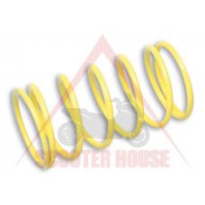 Централна пружина  -MALOSSI- PIAGGIO 125-300 4T 6.8k (+22 процента). (th) 4.6mm, жълта
