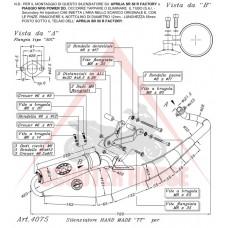 Ауспух -Leo Vince- TT - PIAGGIO Aprilia SR 50 R (carburator). Piaggio NRG Power (carburator)