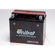 Акумулатор -UNIBAT- 10Ah 12V гелов CBTX12-BS, YTX12-BS