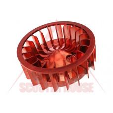 Перка за охлаждане на двигател -STR8- Oversize Minarelli, CPI 50cc  - ЧЕРВЕНА