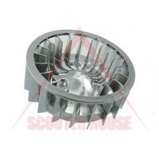 Перка за охлаждане на двигател -STR8- Oversize Minarelli, CPI 50cc  - ХРОМ