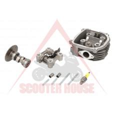 Глава за цилиндър к-т -EU- 150cc GY6 (4-тактов) 125-150cc (152QMI, 157QMJ)