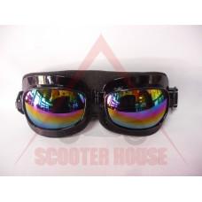 Очила -EU- F4190 черни, огледален визьор