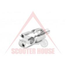 Лапа за кормило -BGM- Piaggio 50-200cc 28mm сребриста