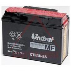 Акумулатор -UNIBAT- 2.3Ah 12V гелов CTR4A-BS, YTR4A-BS