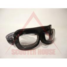Очила -EU- F4190 черни, прозрачен визьор