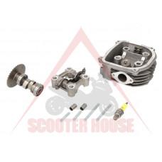 Глава за цилиндър к-т -EU- 125cc GY6 (4-тактов) 125-150cc (152QMI, 157QMJ)