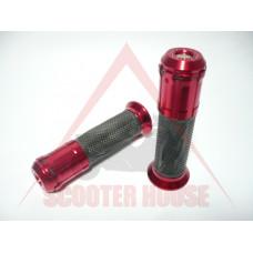 Ръкохватки -EU- 22mm / 24mm pizoma blade style червени
