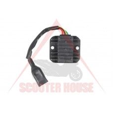 Реле зареждане -EU- Kymco 200cc 12V 10A, 5 кабела