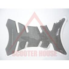 Стикер протектор за резервоар карбон 220x130mm