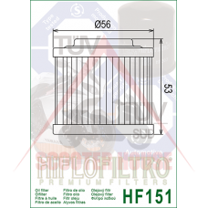Маслен филтър -HIFLO- HF151