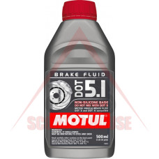 Спирачна течност -MOTUL- DOT 5.1 500ml