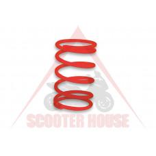 Централн пружина -MALOSSI- Piaggio 400-500cc червена, Ф77.2x160mm thread Ф5,7mm 7.3k