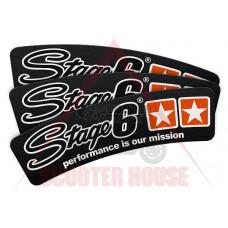 Стикер -Stage 6- за гума, 1бр