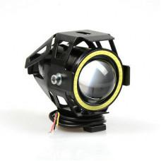 Универсална лупа за мотор с дневна светлина 12v LED