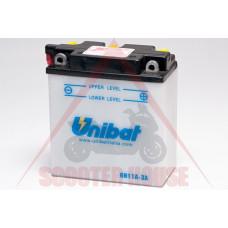 Акумулатор -UNIBAT- 11Ah 6V обслужваем 6N11A-3A