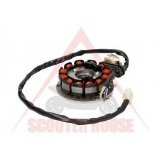 СТАТОР -EU- MINARELLI AM6 4 кабела 12 бобини