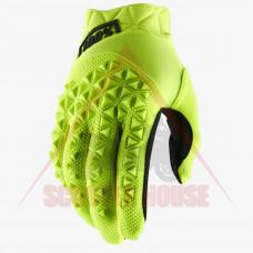 Ръкавици -100- MATIC, неон жълт
