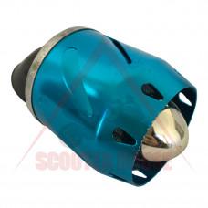 ВЪЗДУШЕН ФИЛТЪР -EU- СПОРТЕН връзка=  35mm, 45 градуса, син, модел 1141