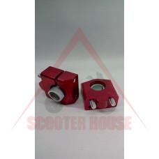 Повдигачи за кормило -EU- ф22mm, червени