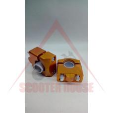 Повдигачи за кормило -EU- ф22mm, оранжеви
