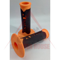 Ръкохватки -EU- 22mm / 22mm за ATV, SHARK RACING, оранжеви