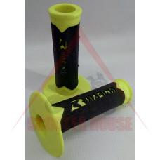 Ръкохватки -EU- 22mm / 22mm за ATV, SHARK RACING, жълти