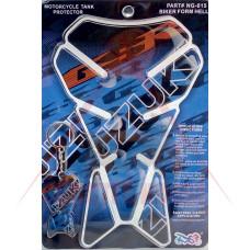 Стикер протектор за резервоар -FASP- 220x140mm SUZUKI NG-015, подарък ключодържател