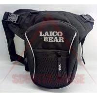 Чанта за крак -LAICO BEAR- черна, модел 4750