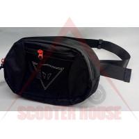 Чанта -D-STYLE- за кръст, черна, модел 4760