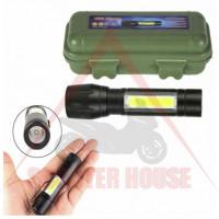Джобен LED фенер 10cm, батерия 600mAh, 1000lum