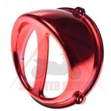 Въздухозаборник -WM- универсален за скутер въздушно охлаждане - цвят червен