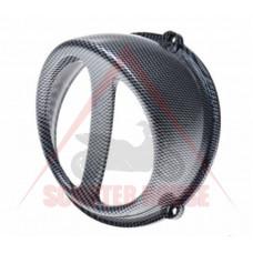 Въздухозаборник -WM- универсален за скутер въздушно охлаждане - цвят карбон