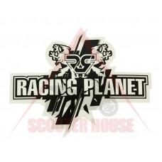 Стикер -Racing Planet- 130x105mm черен