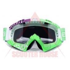Очила -VEMAR- мотокрос X4923W рамка, огледален визьор