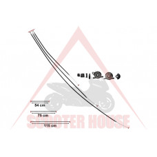 Жило за газ маслена помпа -MOTOFORCE- PIAGGIO NRG NTT Typhoon